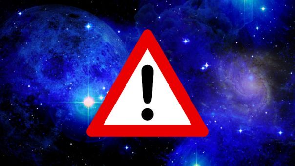 """space with sign """"DANGER"""""""