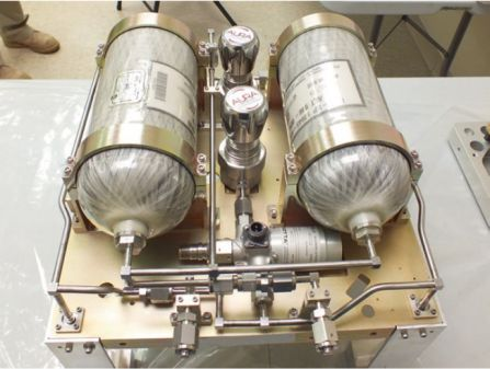 cold gas propulsion system